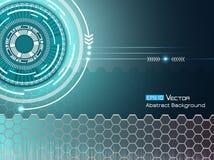 Achtergrond met futuristische elementen 2 Vector Illustratie