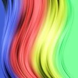 Achtergrond met gekleurde strepen Royalty-vrije Stock Afbeelding