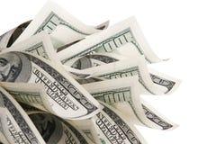 Achtergrond met geld Stock Foto's