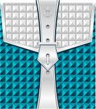 Achtergrond met geometrische naadloze patroonriem FA Royalty-vrije Stock Fotografie