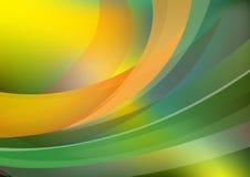 Achtergrond met golvende lijnen - vector Royalty-vrije Stock Afbeelding