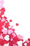 Achtergrond met harten. De dag van de valentijnskaart of de achtergrond van het Huwelijk Stock Afbeeldingen