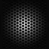 Achtergrond met hartstocht voor muziek zwart net royalty-vrije illustratie