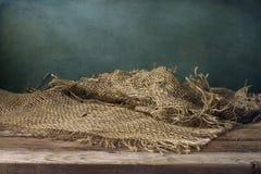 Achtergrond met houten dek Royalty-vrije Stock Foto's