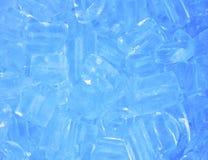 Achtergrond met ijsblokjes Royalty-vrije Stock Foto's