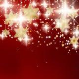 Achtergrond met Kerstmisballen. Royalty-vrije Stock Afbeeldingen