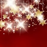 Achtergrond met Kerstmisballen. Stock Fotografie