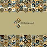 Achtergrond met kleurrijke abstracte driehoeken Stock Afbeelding