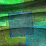 Achtergrond met kleurrijke vierkanten Stock Foto's