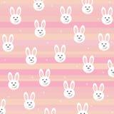 Achtergrond met konijntjes Royalty-vrije Stock Afbeeldingen