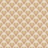 Achtergrond met kronen Royalty-vrije Stock Foto