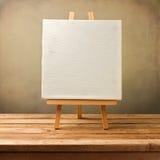 Achtergrond met leeg canvas Royalty-vrije Stock Foto