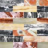 Achtergrond met marmeren patronen Stock Foto