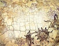 Achtergrond met oosters ornament Royalty-vrije Illustratie