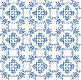 Achtergrond met ornament Gzhel Royalty-vrije Stock Afbeeldingen