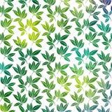 Achtergrond met palmbladen Royalty-vrije Stock Afbeeldingen