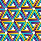Achtergrond met Penrose-driehoeken Royalty-vrije Stock Foto's