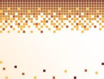 Achtergrond met pixel Stock Afbeeldingen