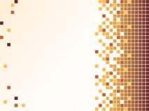 Achtergrond met pixel Stock Afbeelding