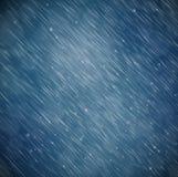 Achtergrond met regen Stock Afbeeldingen