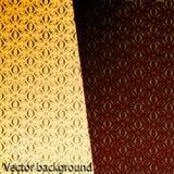 Achtergrond met rode patronen Royalty-vrije Stock Foto's