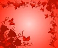 Achtergrond met rozen, vector Stock Foto