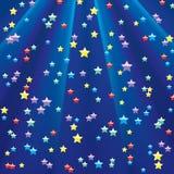 Achtergrond met ster. Royalty-vrije Stock Afbeelding