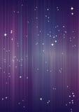 Achtergrond met sterren. Stock Foto