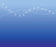 Achtergrond met sterren stock illustratie