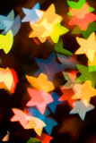 Achtergrond met sterren Stock Foto's