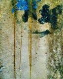 Achtergrond met structuur en textuur van oude metaalmuur Royalty-vrije Stock Afbeeldingen