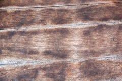 Achtergrond met uitstekende houten muur Stock Foto's