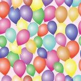 Achtergrond met vele kleurrijke ballons Royalty-vrije Stock Fotografie