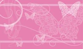 Achtergrond met vlinder Royalty-vrije Stock Afbeelding