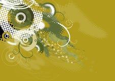 Achtergrond met vormen, vector stock illustratie