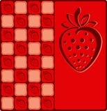 Achtergrond met vruchten Stock Fotografie