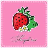 Achtergrond met vruchten Stock Afbeeldingen