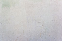 Achtergrond met witte geschilderde concrete muur Royalty-vrije Stock Foto