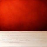 Achtergrond met witte houten lijst royalty-vrije stock foto