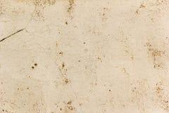 Achtergrond met zuivere gele stopverfmuur Royalty-vrije Stock Afbeelding