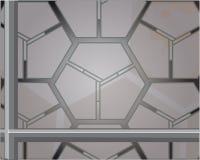 Achtergrond metalware Stock Afbeelding