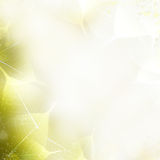 Achtergrond - mooie aardgrens met bladeren Stock Afbeeldingen