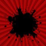 Achtergrond, ontploffing Stock Foto