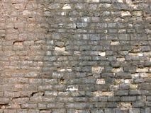 Achtergrond oude bakstenen muurtextuur wijnoogst Stock Fotografie