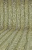 Achtergrond oude hout gebogen houten parket houten binnenlandse bogen Royalty-vrije Stock Afbeelding