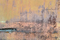 Achtergrond oude metaaloppervlakte Stock Afbeelding
