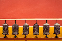 Achtergrond over boeddhisme stock foto