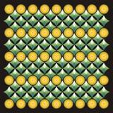 Achtergrond patroon met fonteinkleur Stock Afbeelding