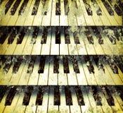 Achtergrond pianosleutels Royalty-vrije Stock Afbeelding