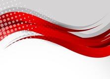 Abstracte rode achtergrond Stock Afbeeldingen